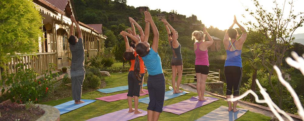 4 Days Post Trek Restorative Yoga Retreat