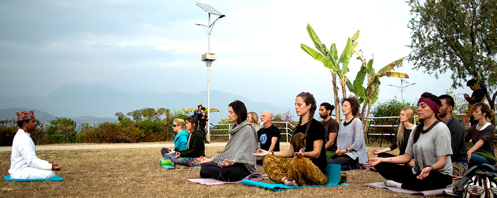 7 Days Yoga Meditation Spa Relaxing Retreat